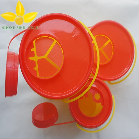 1L 1.5L 3L round sharp container