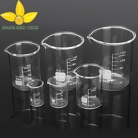 Glass Measuring Cup / Glass Lab Beaker