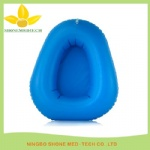inflatable bedpan