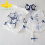 urine bag with double hooks